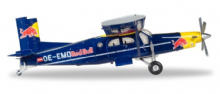 PC-6 Turbo Porter The Flying Bulls Herpa Collectors Model Scale 1:200 580304 E